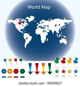 world map word images stock photos vectors shutterstock