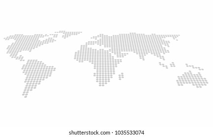 World map vector perspective stock vectors images vector art world map pixel graphic design background wallpaper gumiabroncs Choice Image