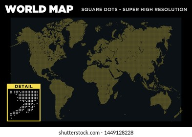 High Resolution World Map Images, Stock Photos & Vectors | Shutterstock