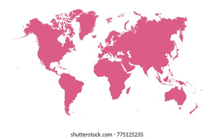 World map wallpaper images stock photos vectors shutterstock world map vector gumiabroncs Choice Image