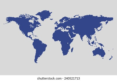 World map wallpaper earth globe earth vectores en stock 332355944 world map vector blue color map vector gumiabroncs Choice Image