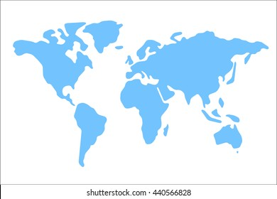 Flat Earth Maps Images Stock Photos Vectors Shutterstock