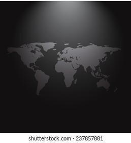 Vectores Imágenes Y Arte Vectorial De Stock Sobre World Map