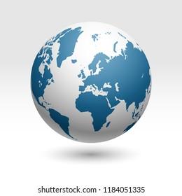 world map wector