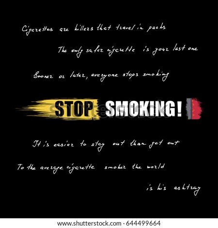 World No Tobacco Day Horizontal Banner Stock Vector Royalty Free