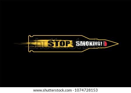 World No Tobacco Day No Smoking Stock Vector Royalty Free