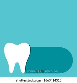 World Oral Health Day design, 20 March ,vector illustration