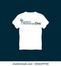 World Pharmacists Day T-Shart Design