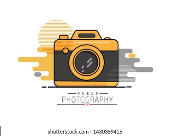 World Photography Day 19 August Poster Design