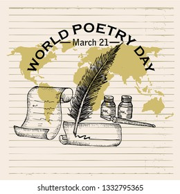 World Poetry Day, poster