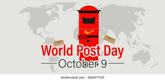 World Postal Day Images, Stock Photos & Vectors   Shutterstock