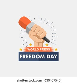 world press freedom day illustration