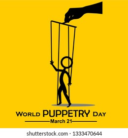 World Puppetry Day, 21 March