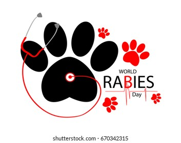 World Rabies Day 2017 card
