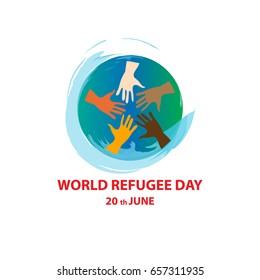 World refugee day on june 20th