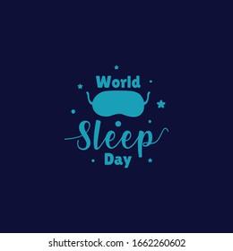 World Sleep Day Vector Design Illustration