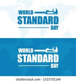 World Standard Day design vector