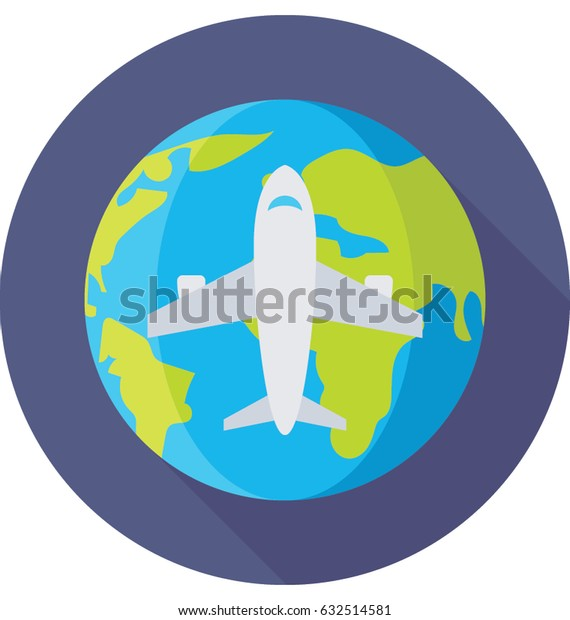 World Tour Vector Icon