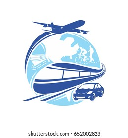 world transportation logo