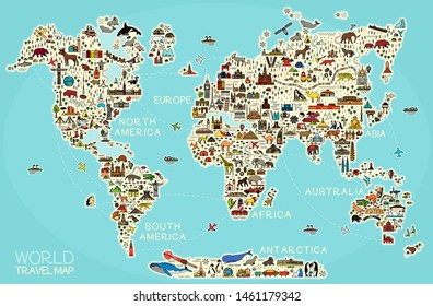 World Map Mountains Images, Stock Photos & Vectors ...