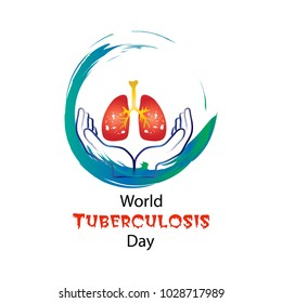 World Tuberculosis Day concept for greeting card, poster and banner.