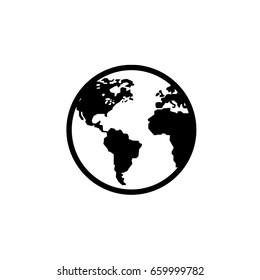 world - Vector icon