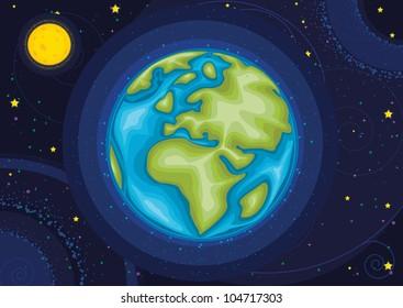 World vector illustration