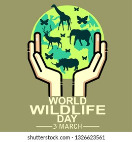 world wildlife day, poster