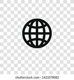 worldwide icon from miscellaneous collection for mobile concept and web apps icon. Transparent outline, thin line worldwide icon for website design and mobile, app development