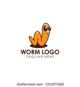 Worm Logo Design