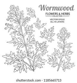 wormwood vector set
