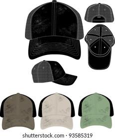 worn hat