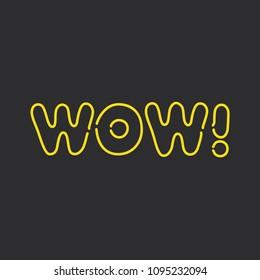 Wow Logo Images, Stock Photos & Vectors   Shutterstock