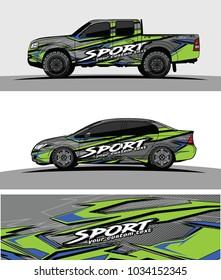 wrap racing graphics background vector for car truck and vehicles