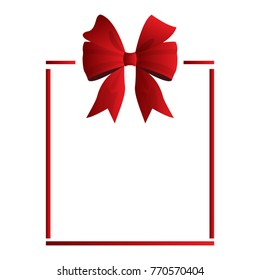 Wrapped present on a white background, Vector illustration