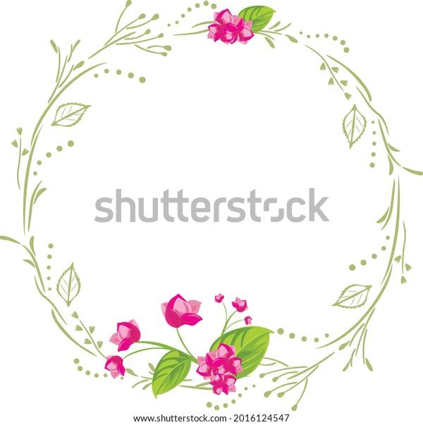 wreath-pink-flowers-postcard-design-600w