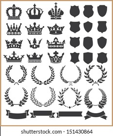 Wreaths and crowns