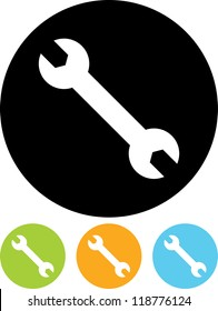 Wrench - Vector icon isolated