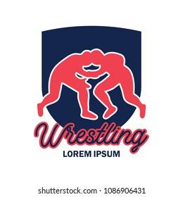 Wrestling Logo Images Stock Photos Vectors Shutterstock