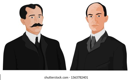 wright brothers vector