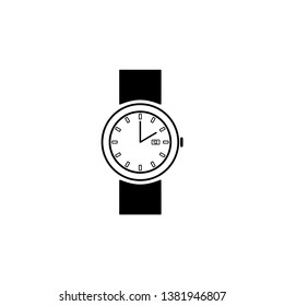 Wrist Watch Icon Vector Illustration - Vector