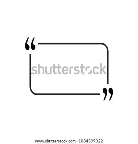 Write Frame Simple Vector Stock Vector Royalty Free 1084399022