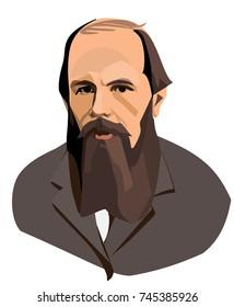 Writer Fyodor Dostoyevsky.