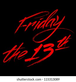 "Writing ""Friday the 13th"""