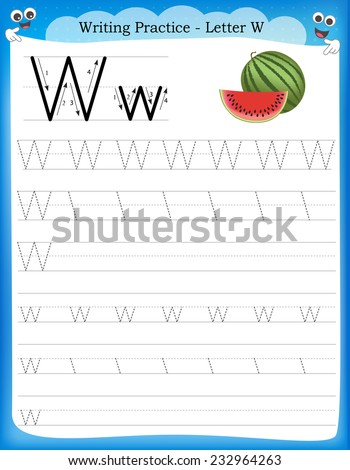 Numbers Kids Worksheet Kindergarten Preschool Training To Write Count Tracing Exercises Children Vector Illustration in addition C E C A C F Eaff F besides Wp moreover Print Handwriting Practice Sheet Basic Writing Educational Game Children Letter L Illustration Cute Lion likewise Writing Practice Letter W Printable W. on stock vector writing practice letter w printable worksheet with