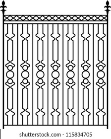 Royalty Free Window Grill Design Stock Images Photos