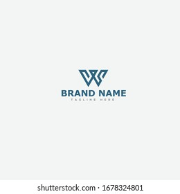 WS Initial letter Icon logo Vector