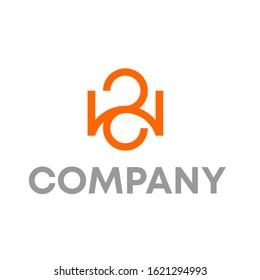 WS logo design vector template sign
