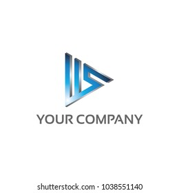 WS - Logo Template 100 percent vector, Fully editable 100 percent Resizable vector EPS documents