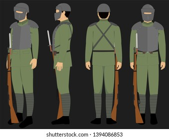 Bayonet Ww1 Images, Stock Photos & Vectors | Shutterstock